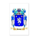 Baudy 20x12 Wall Decal
