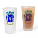 Baudy Drinking Glass