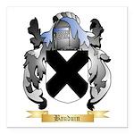 Bauduin Square Car Magnet 3