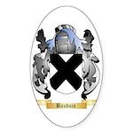 Bauduin Sticker (Oval)