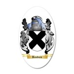 Bauduin 35x21 Oval Wall Decal