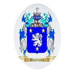 Bauduccio Ornament (Oval)