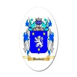 Baudoux 20x12 Oval Wall Decal