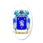 Baudone 20x12 Oval Wall Decal
