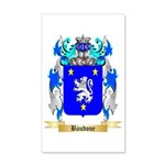 Baudone 35x21 Wall Decal