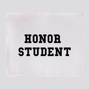 Honor Student Throw Blanket