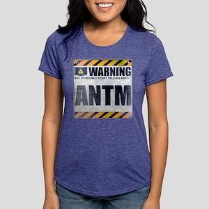Warning: ANTM Womens Tri-blend T-Shirt