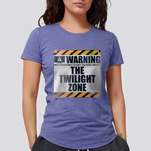 Warning: The Twilight Zone Womens Tri-blend T-Shir
