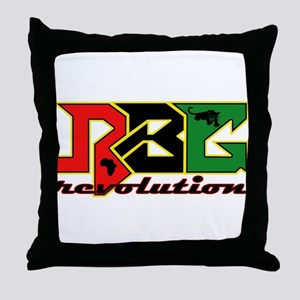 RBG Revolution Throw Pillow