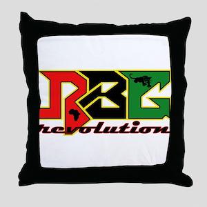 RBG Revolution Throw Pillow