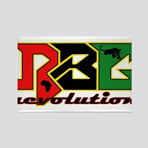 RBG Revolution Rectangle Magnet