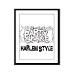 Party Shake Framed Panel Print