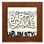 Party Shake Framed Tile