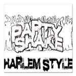 Party Shake Square Car Magnet 3