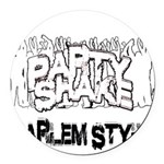 Party Shake Round Car Magnet