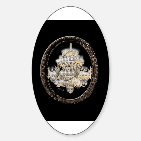 Paris Opera House Chandelier Decal