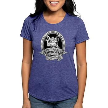 Saint Felicia Womens Tri-blend T-Shirt