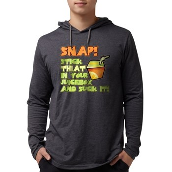 Stick that in your juicebox! Mens Hooded Shirt