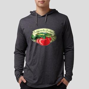 Salmonella Farms - Tomatoes Mens Hooded Shirt