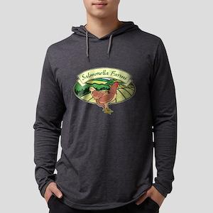 Salmonella Farms - Chicken Mens Hooded Shirt