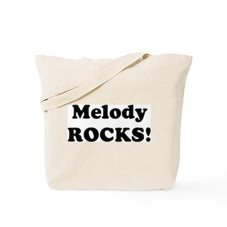 Melody Rocks! Tote Bag