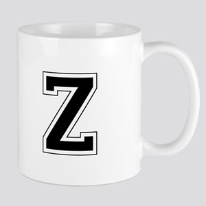 Collegiate Monogram Z Mug