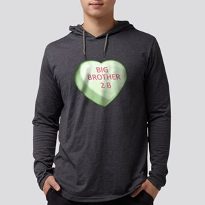 BIG BROTHER 2 B - Candy Heart Mens Hooded Shirt