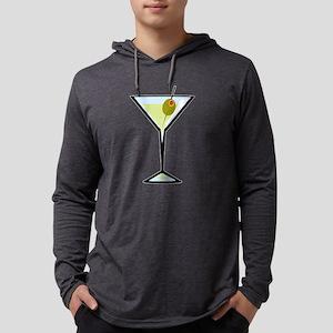 Dirty Martini Mens Hooded Shirt