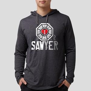 I Heart Sawyer - LOST Mens Hooded Shirt