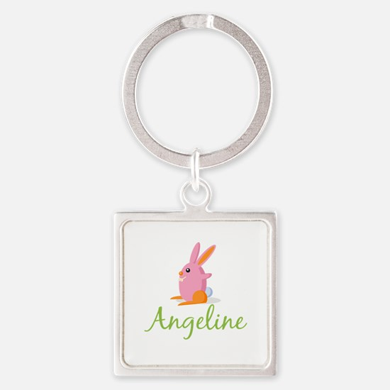 Easter Bunny Angeline Keychains