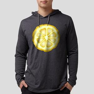 Lemon Slice Mens Hooded Shirt