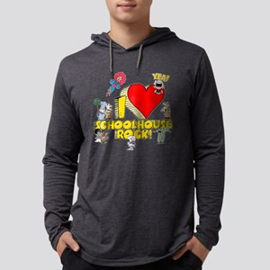 I Heart Schoolhouse Rock! Mens Hooded Shirt