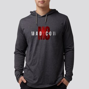 Mad Cow Mens Hooded Shirt
