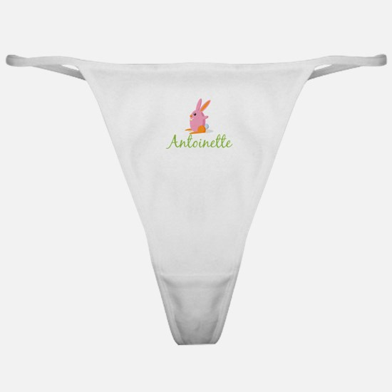 Easter Bunny Antoinette Classic Thong