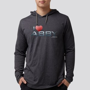 I Heart Abby Mens Hooded Shirt