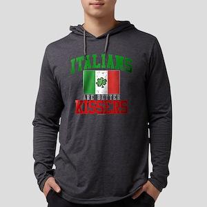 Italians Are Better Kissers Mens Hooded Shirt