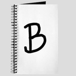 Bookworm Monogram B Journal