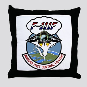 F-111 Aardvark Throw Pillow