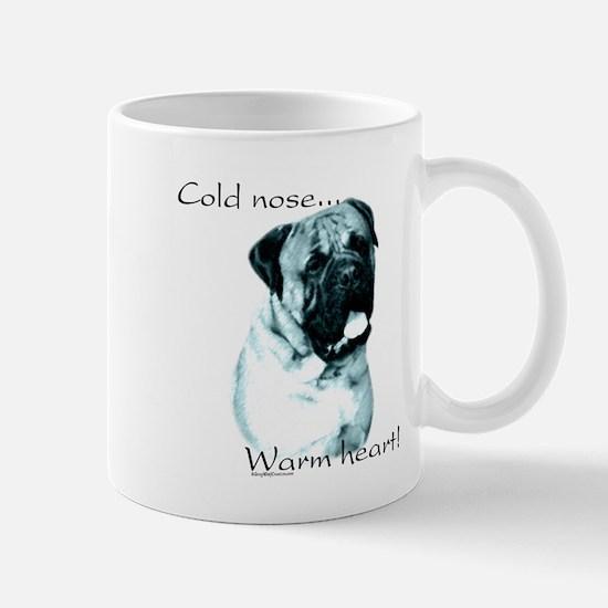 Bullmastiff Warm Heart Mug