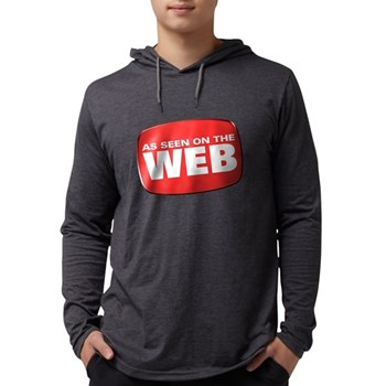 As Seen on the Web Mens Hooded Shirt