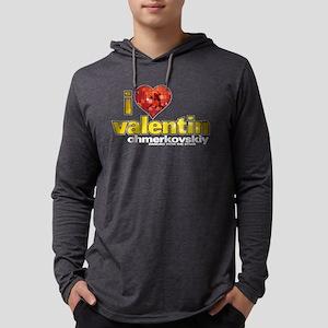 I Heart Valentin Chmerkovskiy Mens Hooded Shirt