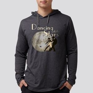 Retro Dancing with the Stars Mens Hooded Shirt