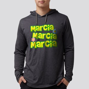 Marcia, Marcia, Marcia Mens Hooded Shirt