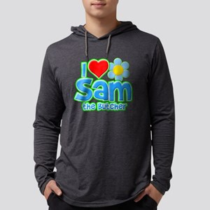 I Heart Sam the Butcher Mens Hooded Shirt
