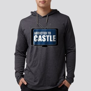Addicted to Castle Mens Hooded Shirt