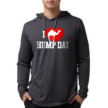 I Heart Hump Day Mens Hooded Shirt