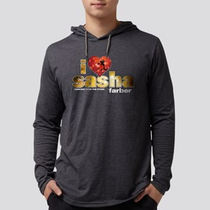 I Heart Sasha Farber Mens Hooded Shirt