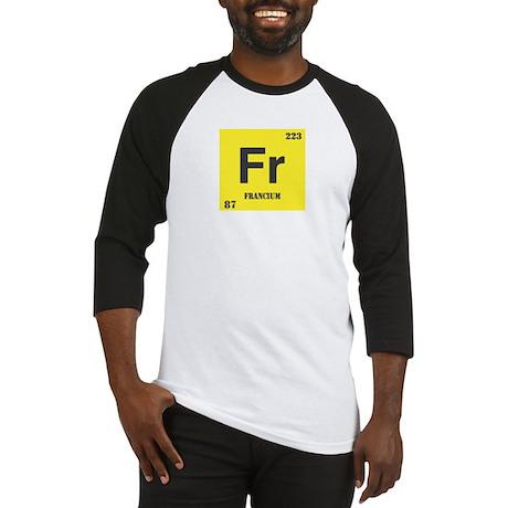 Francium Element Baseball Jersey