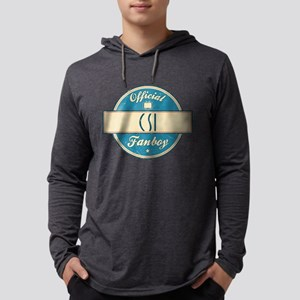 Official CSI Fanboy Mens Hooded Shirt