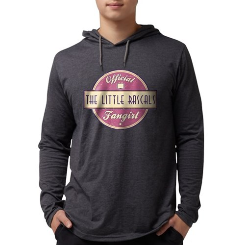 Official The Little Rascals F Mens Hooded Shirt